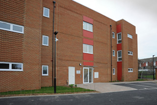 The new flats at Slade Green